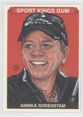 2012 Sportkings Series E - [Base] - Premium Back #235 - Annika Sorenstam