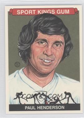 2012 Sportkings Series E - [Base] - Premium Back #239 - Paul Henderson