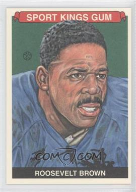 2012 Sportkings Series E - [Base] #232 - Roosevelt Brown