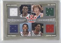 David Robinson, Bill Walton, Isiah Thomas, Scottie Pippen /30