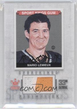 2012 Sportkings Series E - Redemption Single Memorabilia - Silver #SKR-13 - Mario Lemieux /19