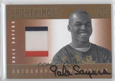 2012 Sportkings Series E Autograph - Memorabilia Gold #AM-GS1 - Gale Sayers