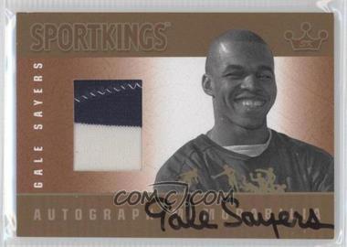 2012 Sportkings Series E Autograph - Memorabilia Gold #AM-GS1 - Gale Sayers /10