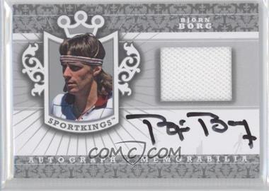2012 Sportkings Series E Autograph - Memorabilia Silver #AM-BBO1 - Bjorn Borg