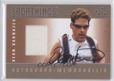 2012 Sportkings Series E Autograph - Memorabilia Silver #AM-DK1 - Dean Karnazes /50