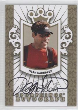 2012 Sportkings Series E Autograph Gold #A-DK2 - Dean Karnazes