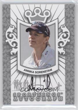 2012 Sportkings Series E Autograph Silver #A-AS2 - Annika Sorenstam /50