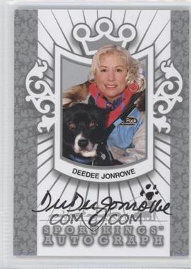 2012 Sportkings Series E Autograph Silver #A-DDJ3 - Deedee Jonrowe