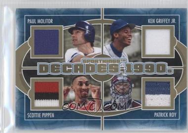 2012 Sportkings Series E Decades Gold #D-05 - [Missing]