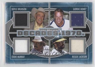 2012 Sportkings Series E Decades Silver #D-03 - [Missing]