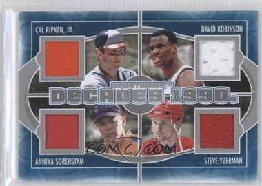 2012 Sportkings Series E Decades Silver #D-06 - [Missing]