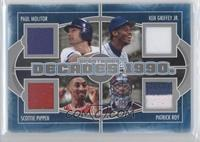 Paul Molitor, Ken Griffey Jr., Scottie Pippen, Patrick Roy