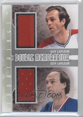 2012 Sportkings Series E Double Memorabilia Silver #DM-09 - Guy Lafleur