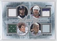 Ken Griffey Jr., Mark Messier, Bill Walton, Martina Navratilova /30