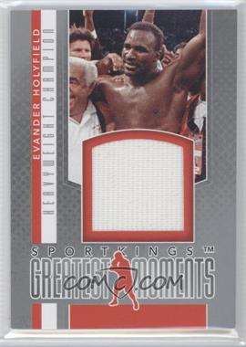 2012 Sportkings Series E Greatest Moments Silver #GM-06 - Evander Holyfield