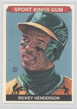 2012 Sportkings Series E Premium Back #213 - Rickey Henderson