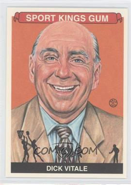 2012 Sportkings Series E Premium Back #222 - Dick Vitale