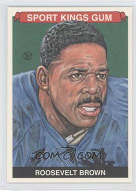 2012 Sportkings Series E Premium Back #232 - Roosevelt Brown