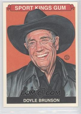 2012 Sportkings Series E Premium Back #246 - Doyle Brunson
