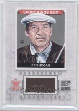 2012 Sportkings Series E Redemption Single Memorabilia Silver #SKR-11 - Ben Hogan