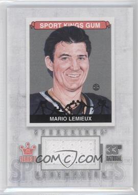2012 Sportkings Series E Redemption Single Memorabilia Silver #SKR-13 - Mario Lemieux