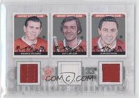 Maurice Richard, Guy Lafleur, Jean Beliveau