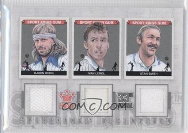 2012 Sportkings Series E Redemption Triple Memorabilia Silver #SKR-52 - [Missing]