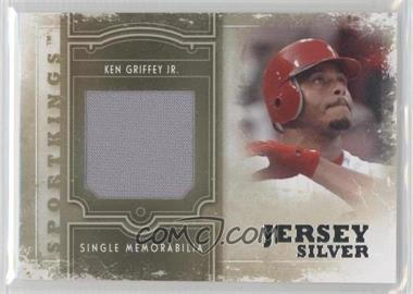 2012 Sportkings Series E Single Memorabilia Silver Jersey #SM-03 - Ken Griffey Jr.