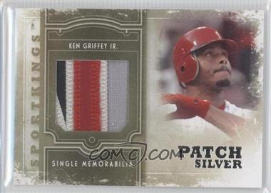 2012 Sportkings Series E Single Memorabilia Silver Patch #SM-03 - Ken Griffey Jr.
