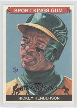 2012 Sportkings Series E #213 - Rickey Henderson