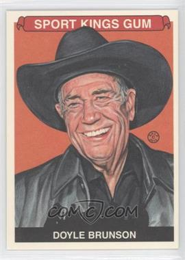 2012 Sportkings Series E #246 - Doyle Brunson
