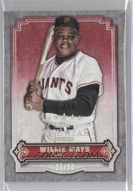 2012 Topps Five Star Club - [Base] #FSC-1 - Willie Mays /50