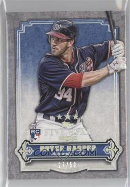 2012 Topps Five Star Club - [Base] #FSC-3 - Bryce Harper /50