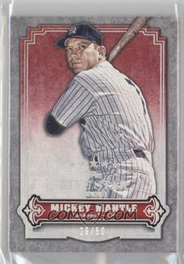 2012 Topps Five Star Club [???] #FSC-5 - Mickey Mantle