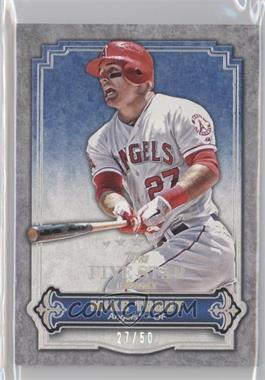 2012 Topps Five Star Club #FSC-4 - Mike Trout /50