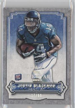 2012 Topps Five Star Club #FSC-9 - Justin Blackmon /50