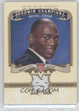 2012 Upper Deck Goodwin Champions - Authentic Memorabilia #M-MJ - Michael Jordan