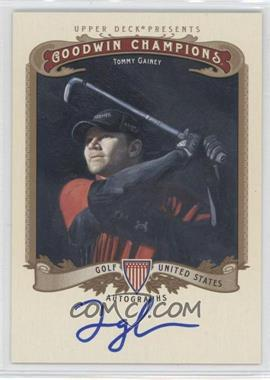 2012 Upper Deck Goodwin Champions - Autographs #A-TG - Tommy Gainey