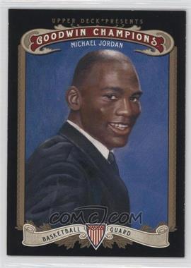 2012 Upper Deck Goodwin Champions - [Base] #123.1 - Michael Jordan