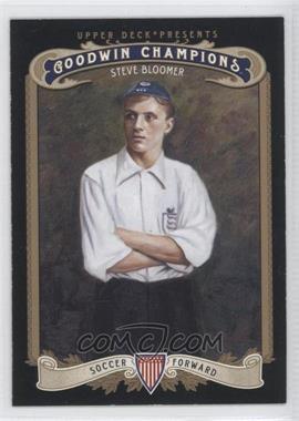2012 Upper Deck Goodwin Champions - [Base] #169 - Steve Bloomer