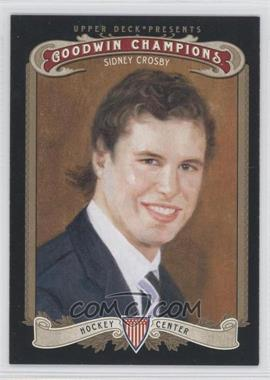 2012 Upper Deck Goodwin Champions - [Base] #49.1 - Sidney Crosby