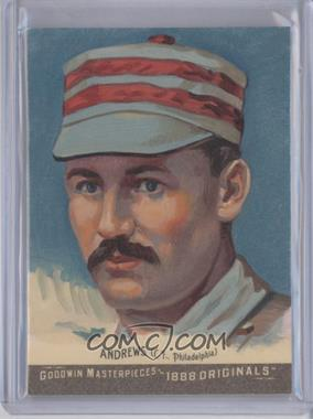 2012 Upper Deck Goodwin Champions - Goodwin Masterpieces 1888 Originals - [Autographed] #GMPS-1 - Ed Andrews /10