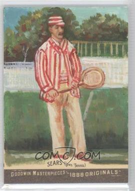 2012 Upper Deck Goodwin Champions - Goodwin Masterpieces 1888 Originals - [Autographed] #GMPS-30 - Richard Sears /10