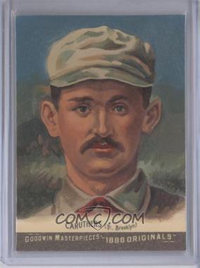 2012 Upper Deck Goodwin Champions - Goodwin Masterpieces 1888 Originals - [Autographed] #GMPS-4 - Bob Caruthers /10