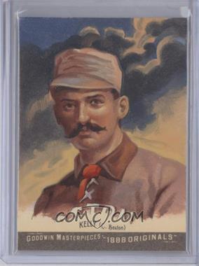 2012 Upper Deck Goodwin Champions - Goodwin Masterpieces 1888 Originals - [Autographed] #GMPS-8 - King Kelly, Ken Joudrey /10