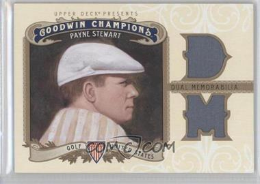 2012 Upper Deck Goodwin Champions Authentic Memorabilia Dual Swatch #M2-PS - Payne Stewart