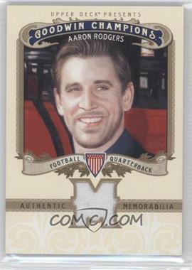 2012 Upper Deck Goodwin Champions Authentic Memorabilia #M-AR - Aaron Rodgers