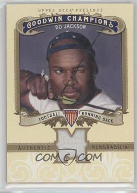 2012 Upper Deck Goodwin Champions Authentic Memorabilia #M-BJ - Bo Jackson