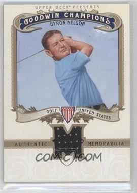2012 Upper Deck Goodwin Champions Authentic Memorabilia #M-BN - Byron Nelson