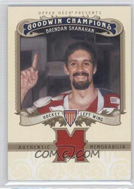 2012 Upper Deck Goodwin Champions Authentic Memorabilia #M-BS - Brendan Shanahan